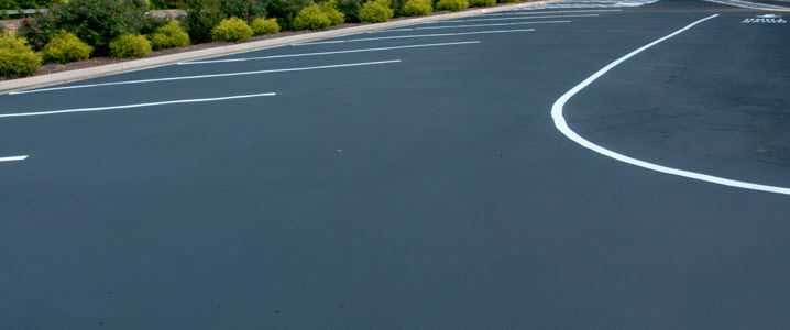 white line painting in West Midlands by All Driveways Birmingham