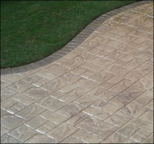 All Driveways Birmingham patio stamped imprinted concrete patio