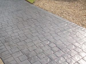 Imprinted concrete Patio Birmingham from All Driveways Birmingham uk
