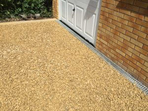 new finished gravel driveway by by All Driveways Birmingham West Midlands