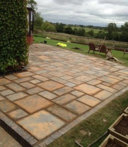 All Driveways Birmingham new Paved Patio using Pavers